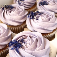 Lady Lavender Cupcakes
