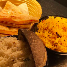 Rice and Breads:  Lemon and Chili Rice