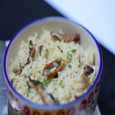 Rice and Breads: Mushroom Rice