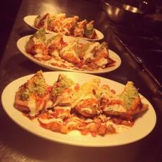 Starter: Punjabi Samosas with Spicy Chickpeas Curry