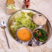 The Veggie Thali - 5 Items