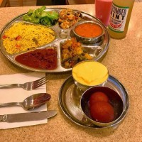 Unlimited Vegan Thali (8 items)