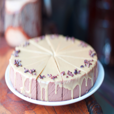 Raw Cake: Chocolate Ganache