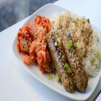 Main Course - Kimchi Sausage
